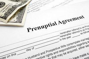 effectiveness of a prenuptial agreement